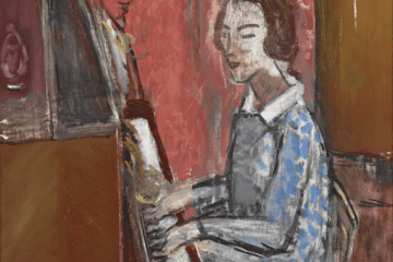 "Matisse ""Woman Seated at Her Piano."""