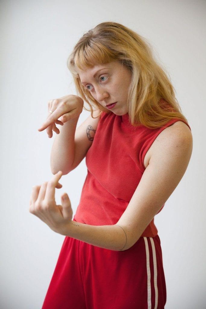 Choreographer and dancer Melissa Word.