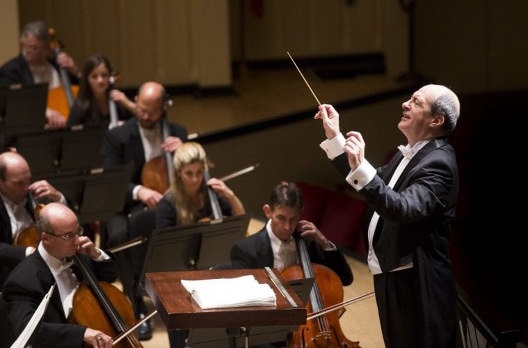 Robert Spano conducts the ASO.