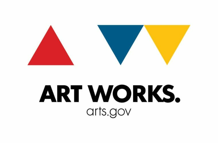 National Endowment for the Arts logo.
