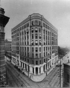 Atlanta's original Equitable building right after its finished construction in 1892. Image courtesy Georgia State University Library.