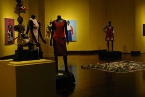 an image from the exhibition, various works. Image courtesy Shantay Robinson.