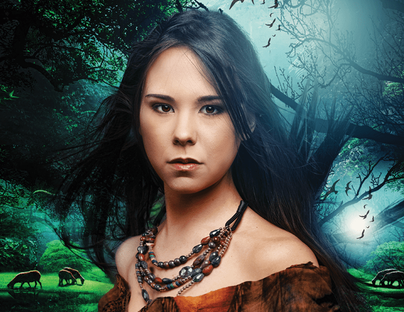 Pocahontas at Serenbe Playhouse
