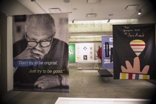 """Defining Design: Paul Rand"" at MODA (Photo by Bethany Legg)"
