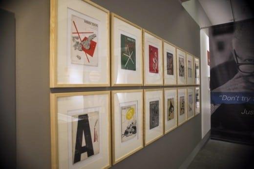Paul Rand Exhibit, by Bethany Legg 05