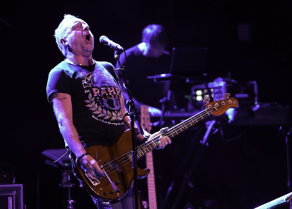 Peter Hook performs at the Variety Playhouse.