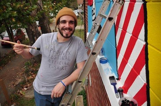 ATL street artist Yoyo Ferro