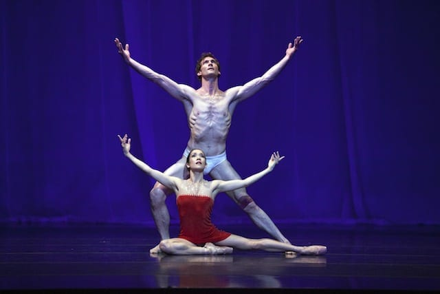 "Van Buskirk and Jonah Hooper in David Bintley's ""Carmina Burana."" (Photos by Charlie McCullers)"