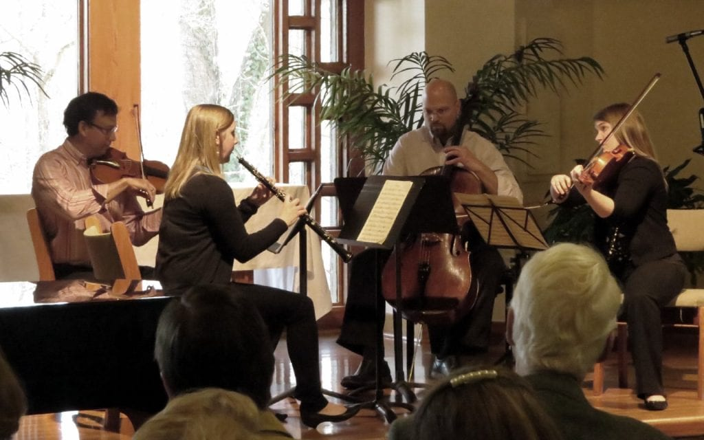 The Riverside Chamber Players played their final show at in Roswell (Photo by Mark Gresham)