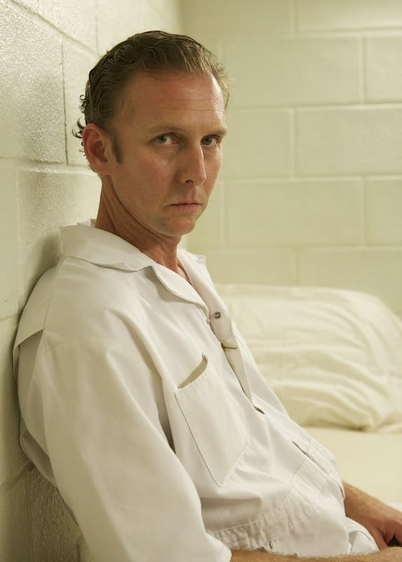 "Jayson Warner Smith as an inmate on the TV series ""Rectify."""