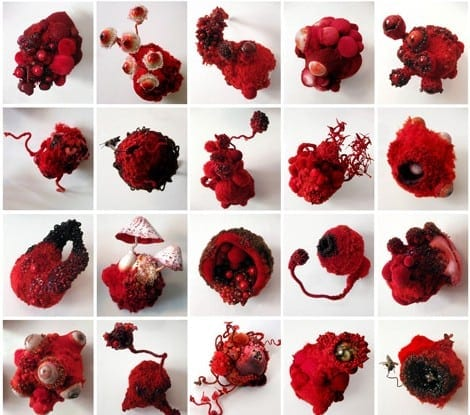 "Amy Gross: ""Red Collection."""