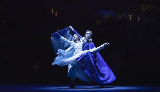 "Two dancers from Atlanta Ballet's ""The Nutcracker."""
