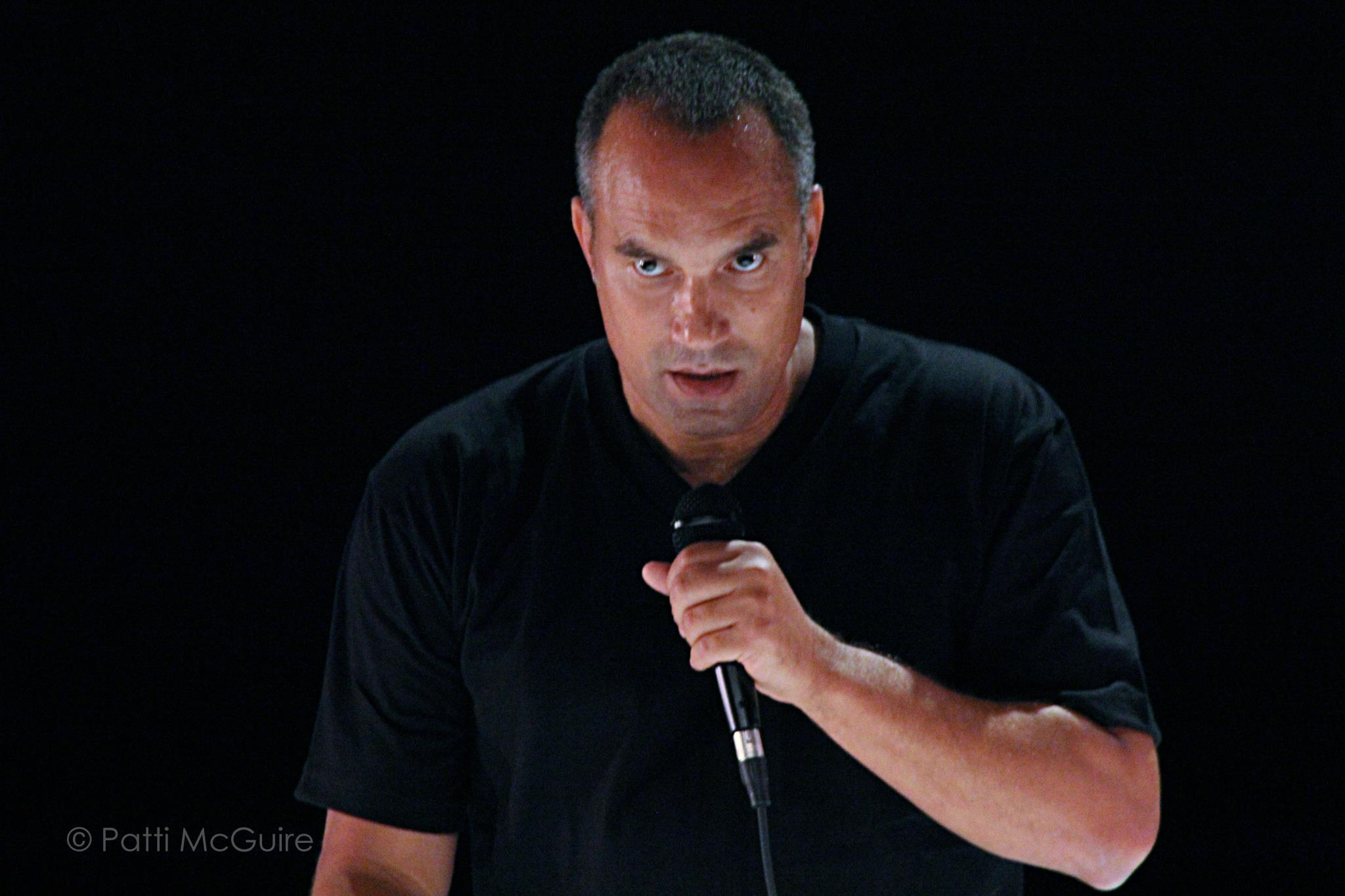 Roger Guenveur Smith as Rodney King. (Photo by Patti McGuire)