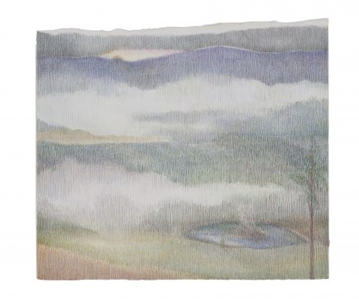 Susan Cofer: Saultopaul, 2003–8, colored pencil on paper 7 1/2 x 8 1/4 inches.