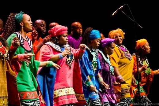 The Soweto Gospel Choir will preform at the Rialto.