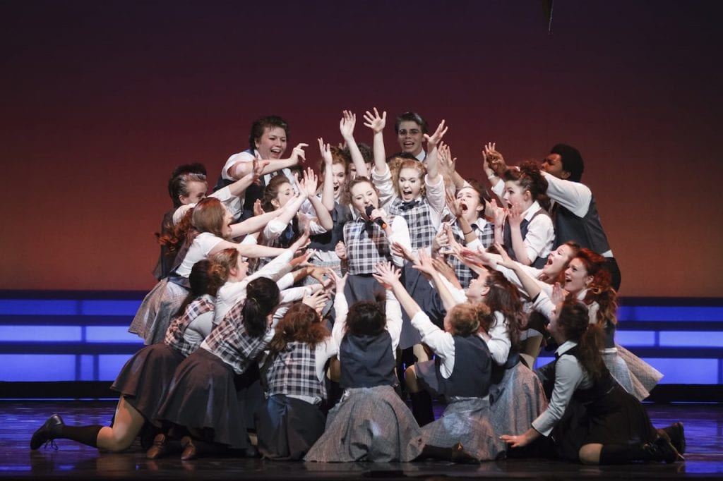 The Rabun Gap-Nacoochee School performance from Godspell, nominated for Overall Production.
