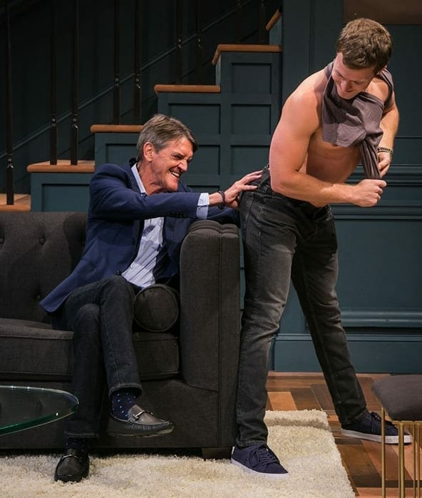 "A scene from ""Skintight"" at Actor's Express in fall 2019."