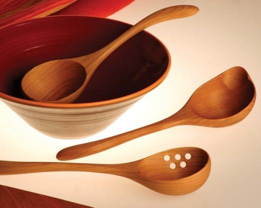 Preview: Jonathan Simons brings lovingly made wooden spoons ...