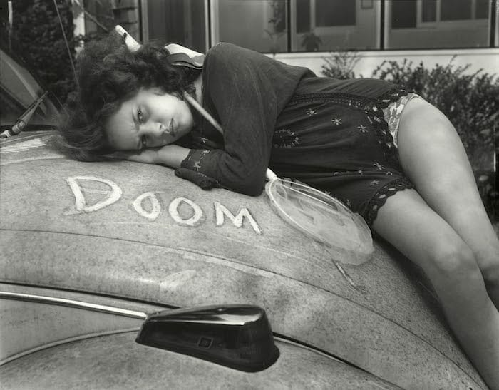 """Ianna and Doom"" by Sally Mann."