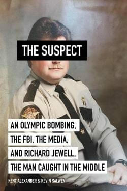 "The book cover of ""The Suspect."""