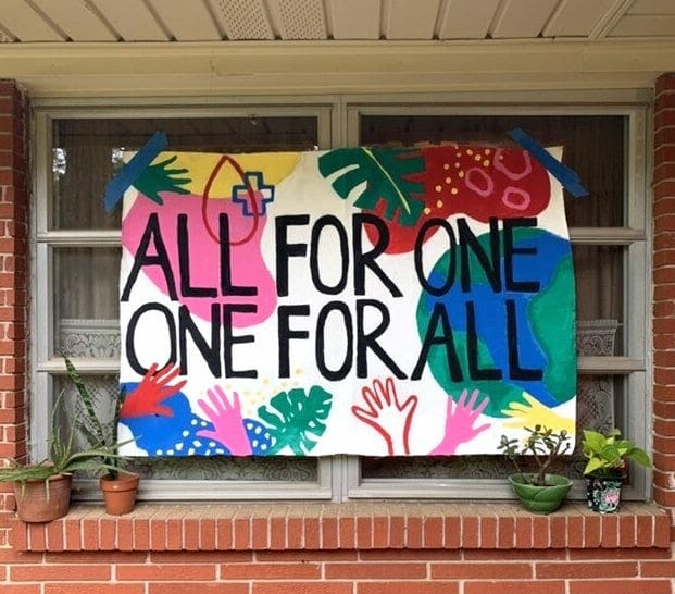 #SignsOfSolidarityATL -- quarantine