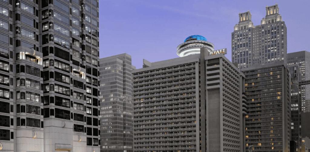 Atlanta's Hyatt Regency, designed by John Portman.