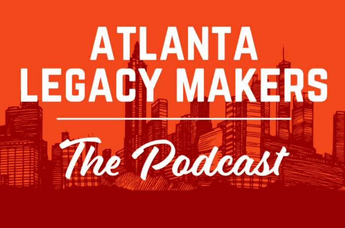 Atlanta Legacy Makers podcast logo.
