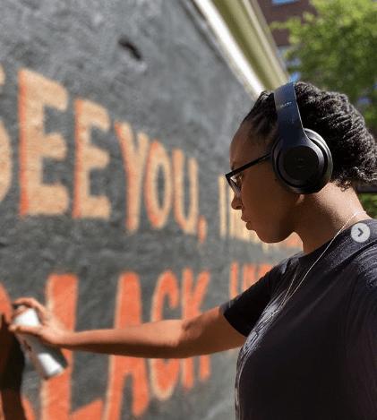 Artist Alannah Vincent on MLK June 2020