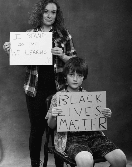 BLM portraits June 2020 - Liza Jaine, Wyatt French