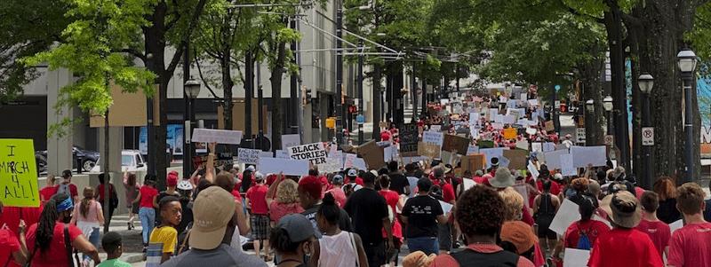 Atlanta Artist Solidarity March June 8 2020