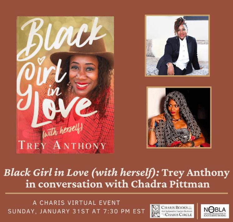 Author Trey Anthony at Charis Books