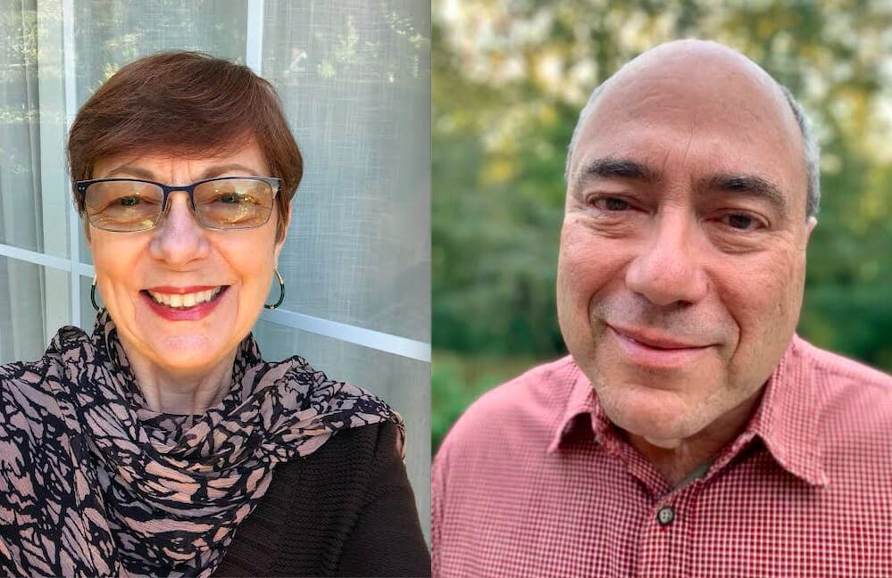 Gillian Anne Renault and Howard Pousner