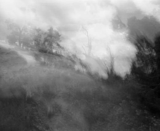 "Stephanie Dowda: (Sense) of Whisper, silver gelatin print,  20""x24"", edition of 5."