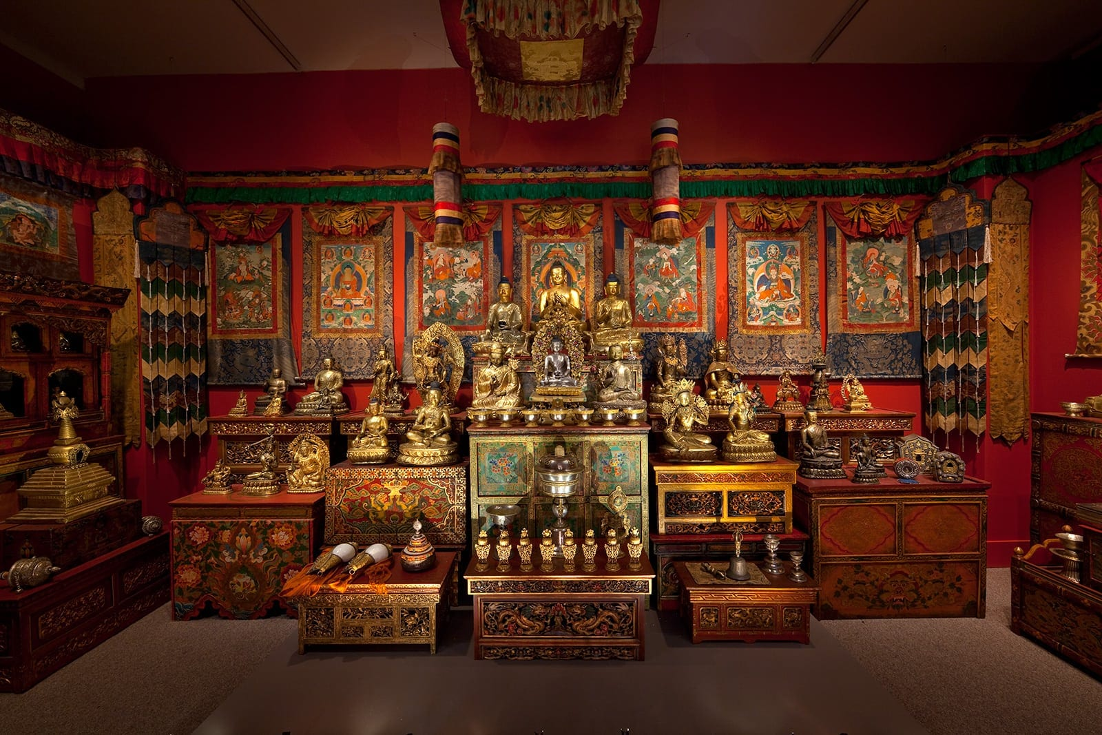 A Shrine for Tibet  Photo courtesy of The Freer Gallery of Art and Arthur M. Sackler Gallery, Smithsonian Institution. From The Alice S. Kandell Collection.