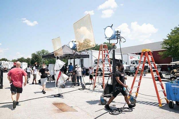 SISTAS shoot July 2020 Tyler Perry Studios