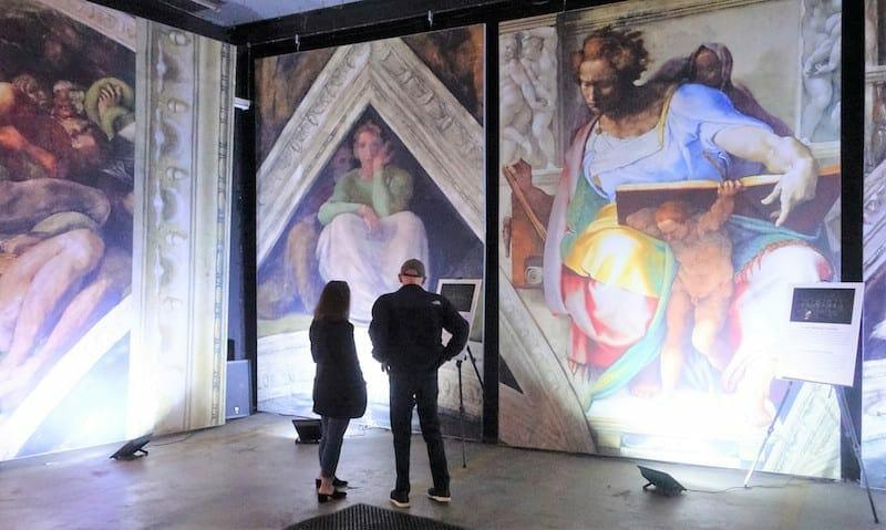 Michelangelo Sistine Chapel ATL March 2021