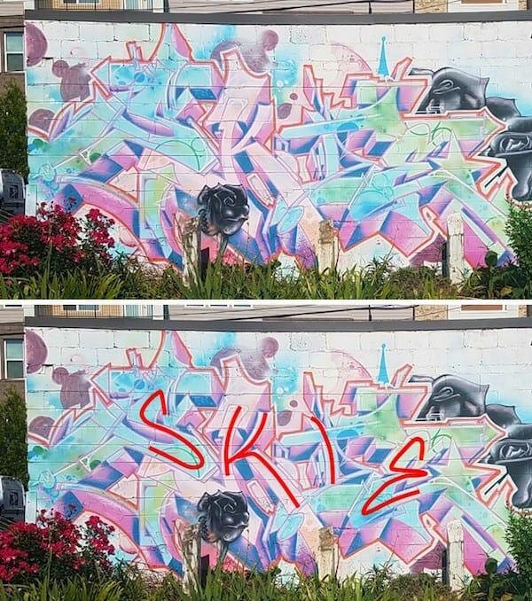 Street art - graffiti - July 2020 - SKIE