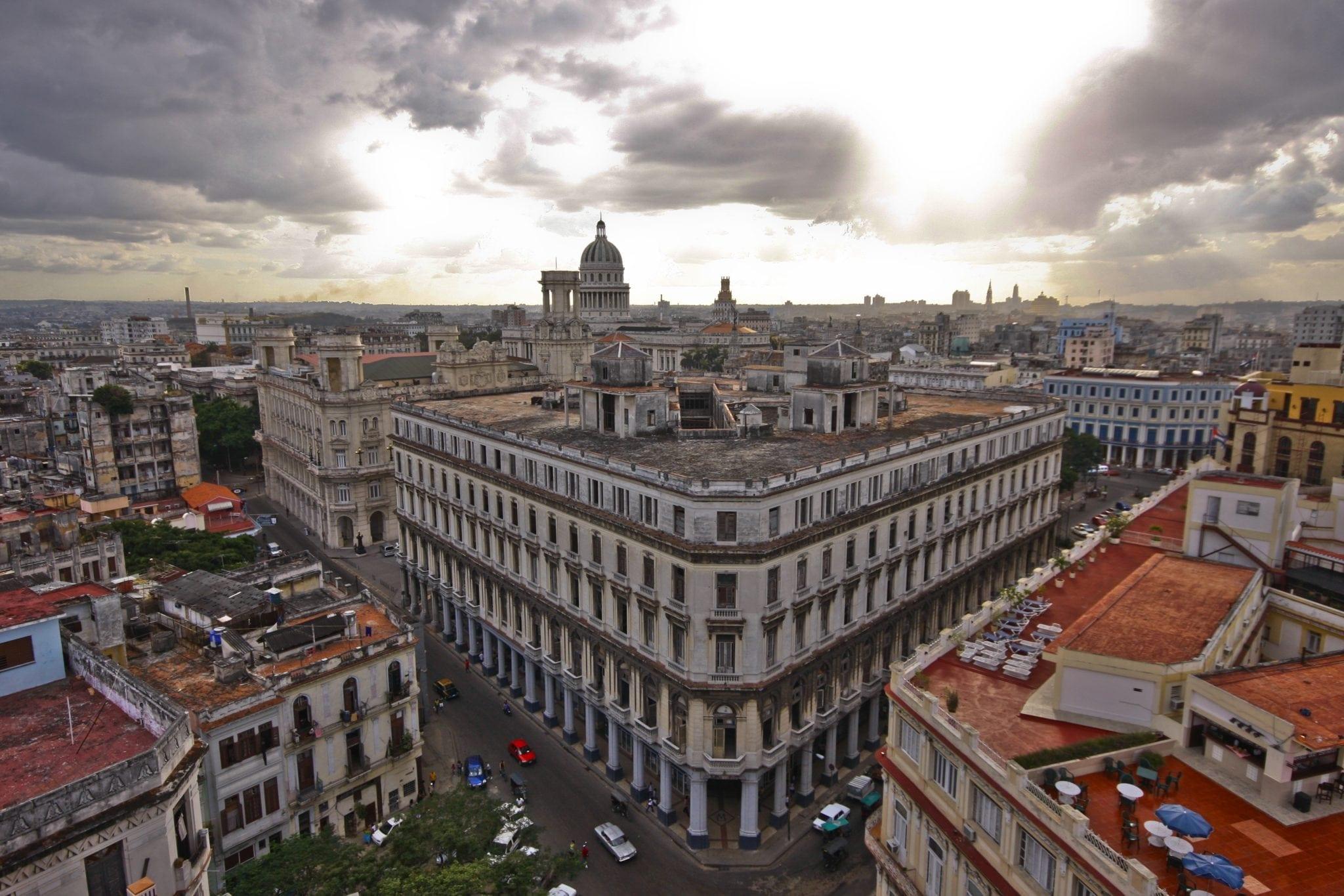 "Susanne Katz ""Cuba Aerial View, Bacardi"" 2005"