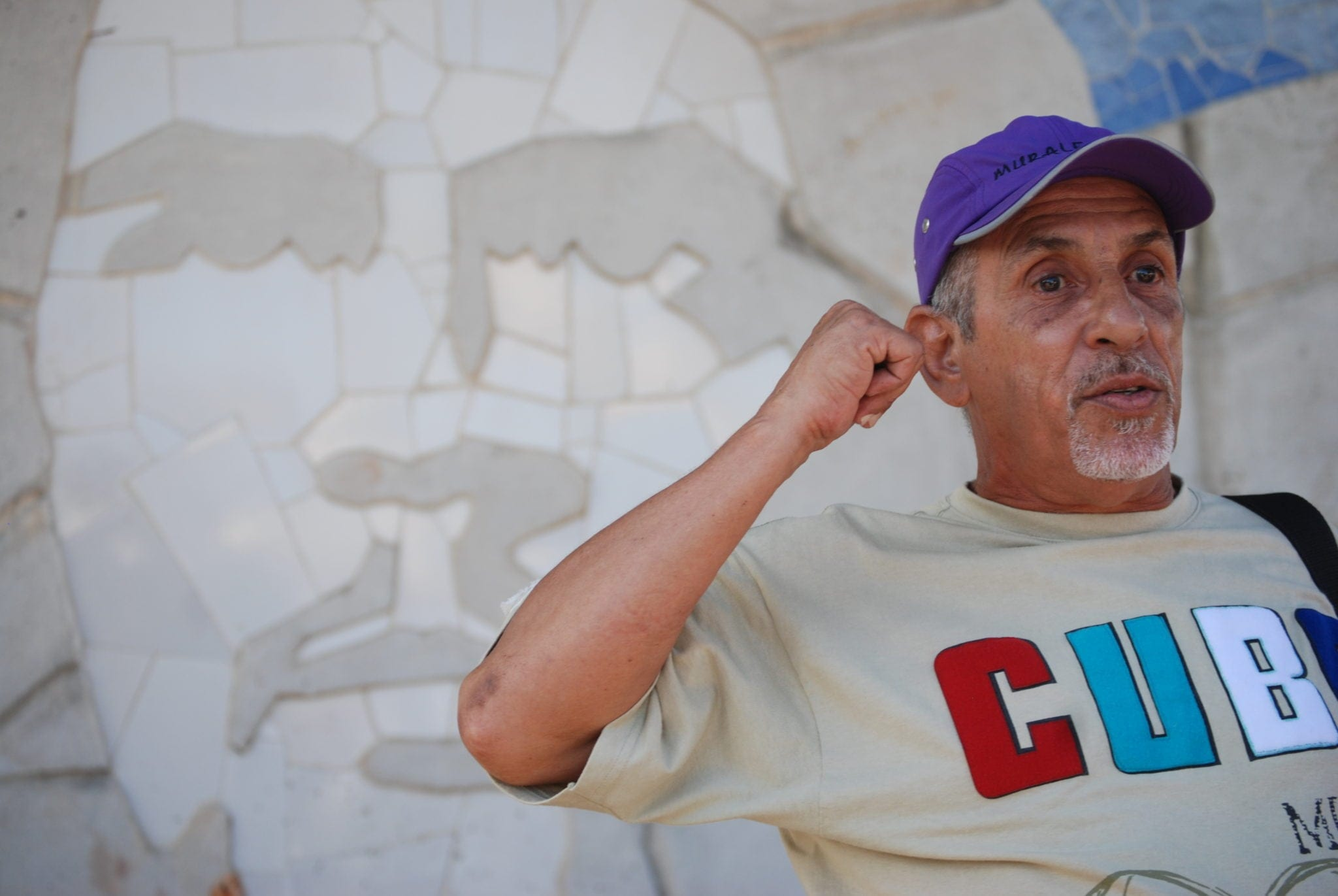 "Susanne Katz, Muraleando Director ""Manuel Diaz Baldrich,"" 2015. Digital photograph"