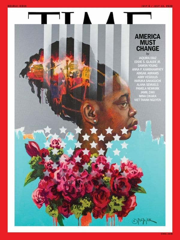 Charly Palmer's July 2020 TIME cover