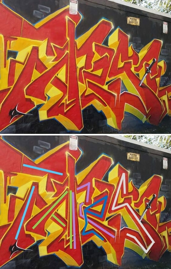 Street art - graffiti - July 2020