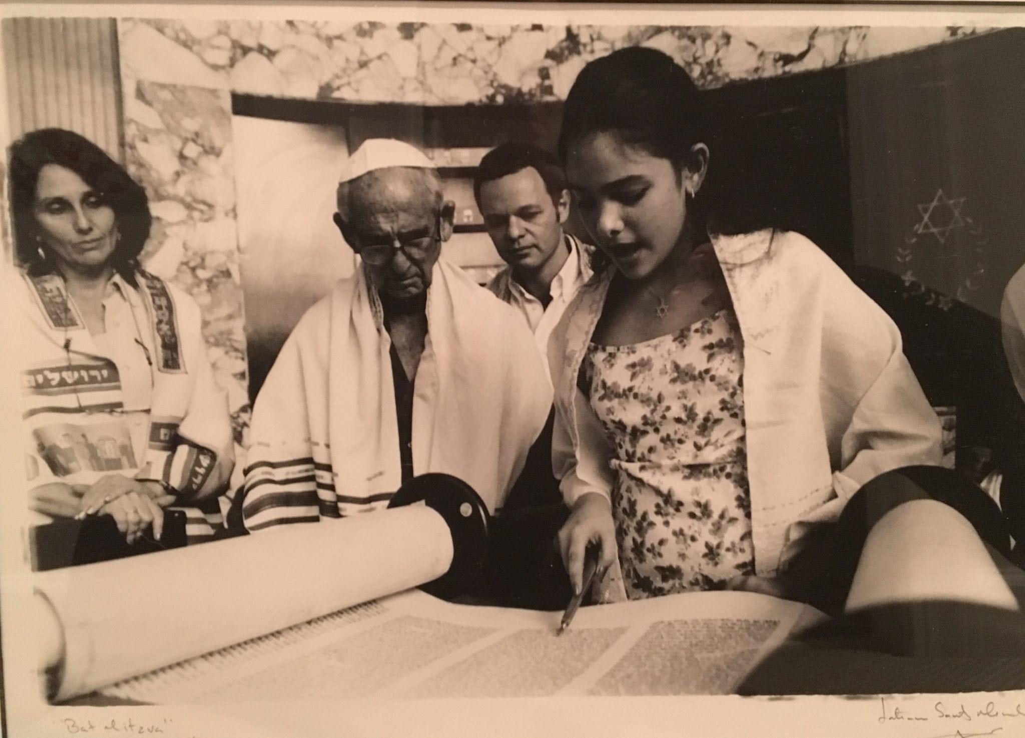 "Tatiana Santos Mendez,  Bat Mitzvah,"" 2003."