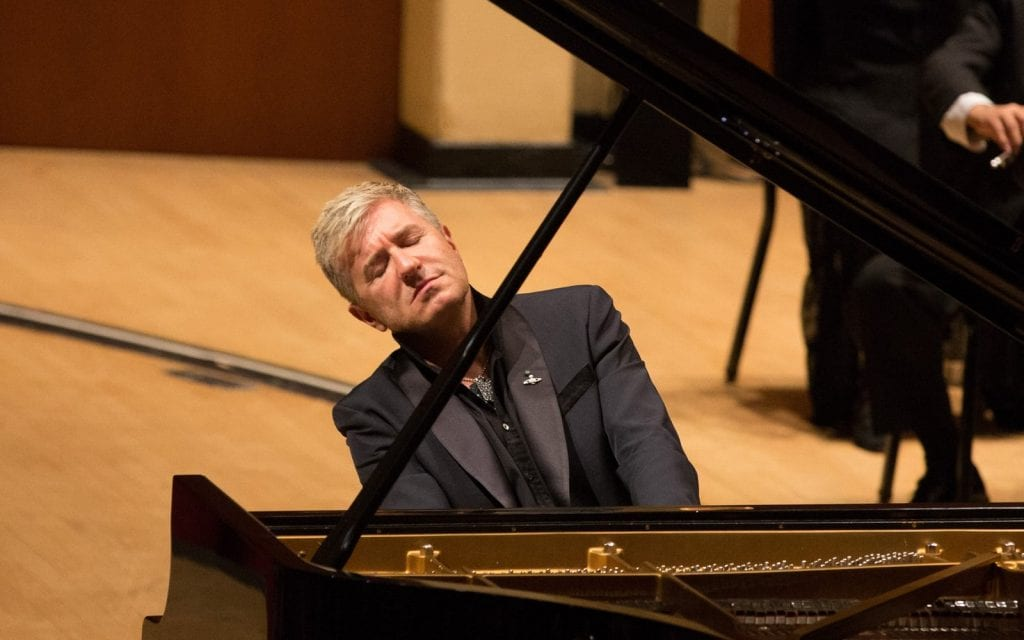 Thibaudet earned an ovation for his Ravel.