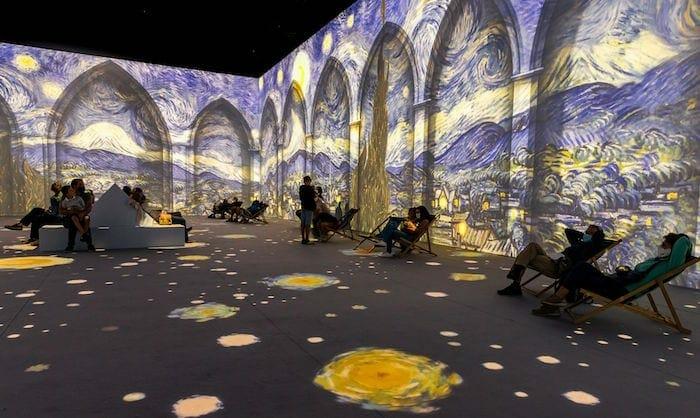 van Gogh experience ATL spring 2021