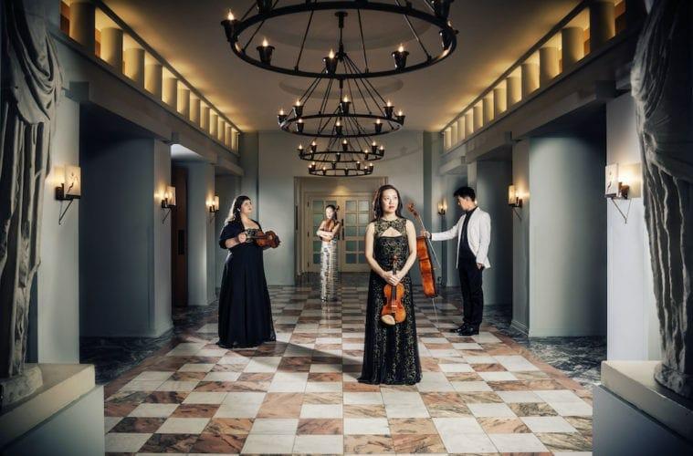 The four members of the Vega Quartet.