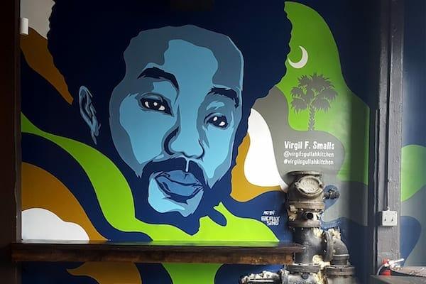 C. Flux Sing mural