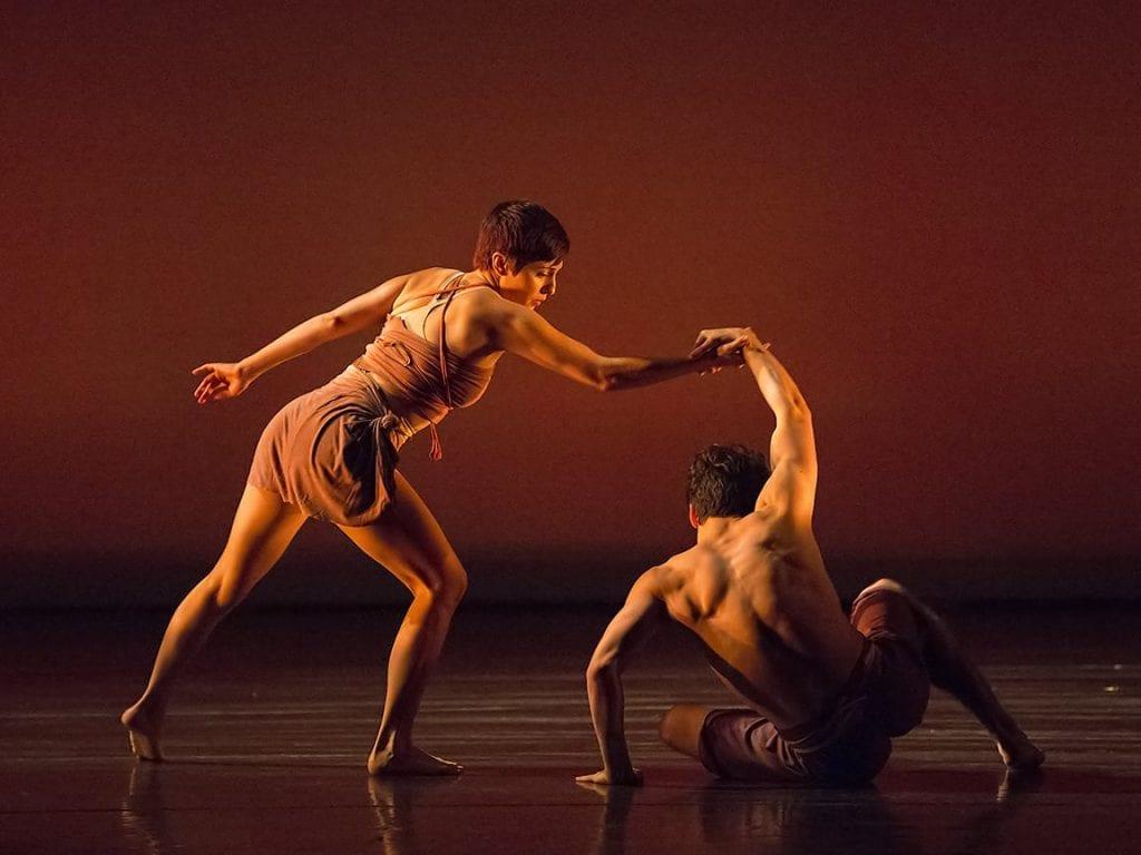 Dancers Daniel Stefek and Gabriella Dorado perform Reminiscence. (Photos by Richard Calmes)