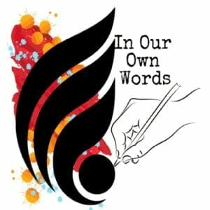 In Our Own Words logo