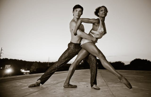Wabi Sabi's Brandon Nguyen and Kiara Felder. (Photo by Jonah Hooper)