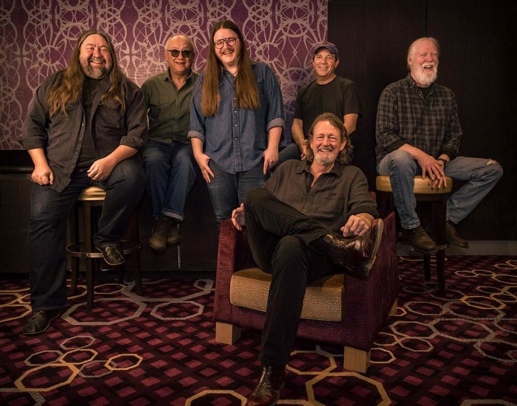 John Bell with his band, Widespread Panic